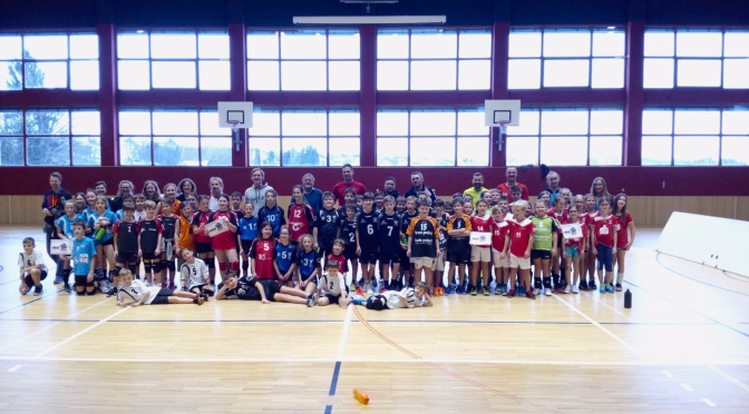 U11 Turnier in Zwettl mit Teilnehmerrekord