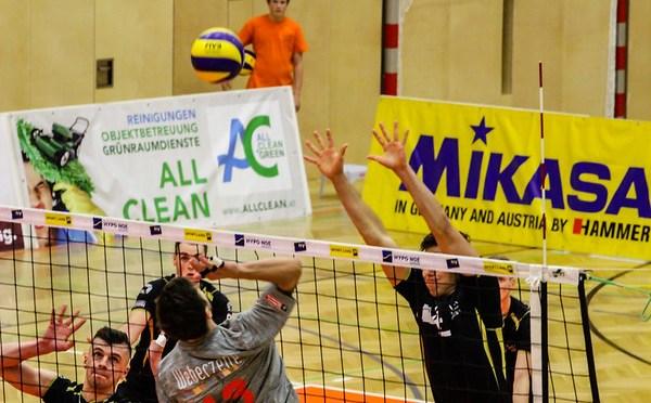 Volley League Men / Amstettner 3-0 Erfolg gegen Tabellendritten Graz
