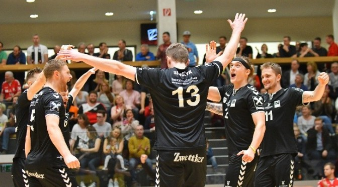 Volley League Men 3. Halbfinale / Nordmänner im FINALE!!!