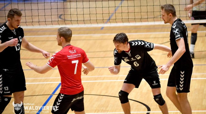 Volley League Men 2. Halbfinale / Harte Nuss im 2. Halbfinale für die Nordmänner
