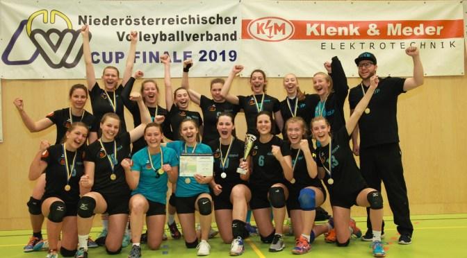 USP-Panther-Ladies gewinnen den NÖVV-CUP 2019!