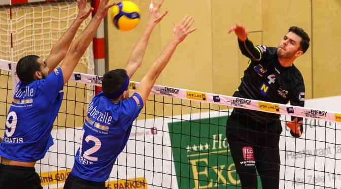 Volley League Men / VCA Amstetten NÖ gewinnt Heimspielkrimi gegen Ried