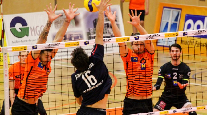 Volley League MEN / Amstetten feiert 2 Siege!