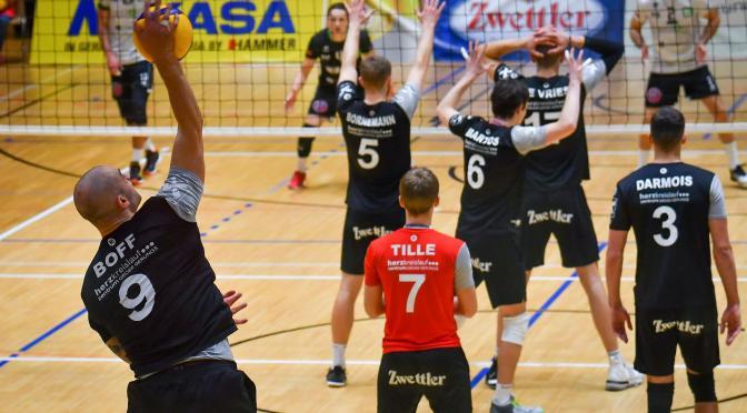 Volley League MEN / Revanche von URW Waldviertel gegen Graz knapp nicht gelungen