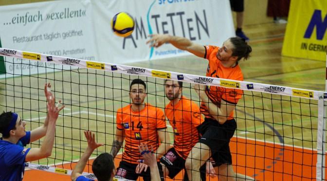 Volley League MEN Viertelfinale / VCA Amstetten NÖ scheitert an UVC Ried/Innkreis