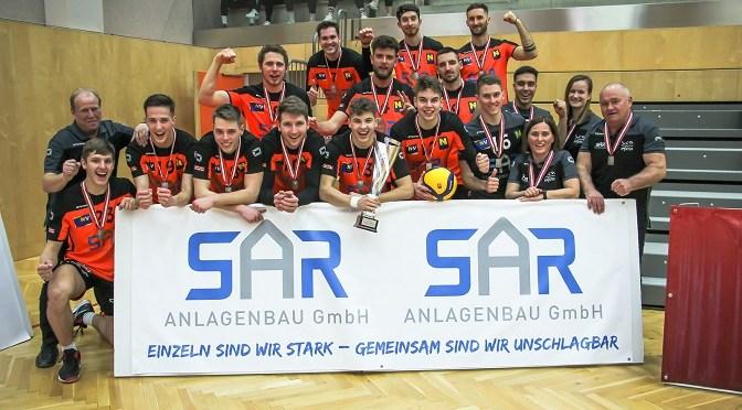 Austrian Volley Cup / VCA Amstetten NÖ unterliegt Serienmeister Aich/Dob im Cupfinale knapp mit 1-3
