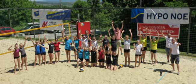Hypo NÖ Junior BeachSeries presented by NÖ Versicherung / U15 w Turnier in Droß