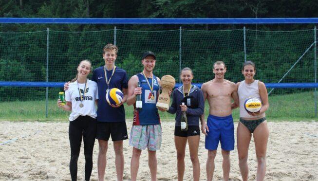 NÖ Landesmeisterschaften Beachvolleyball Mixed in Eschenau