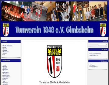 Homepage Partnerschaftsverein TV Gimbsheim