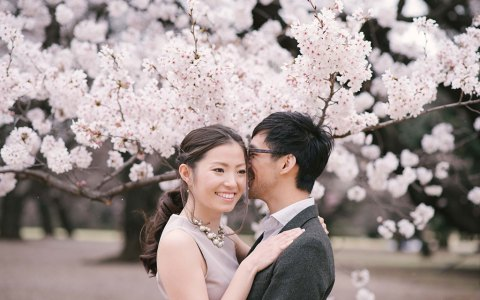 Tokyo Engagement Photo - Vicky Andy - Kai Photography Japan