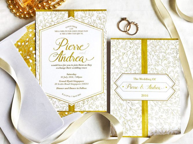 Wedding Invitation Cards In Singapore