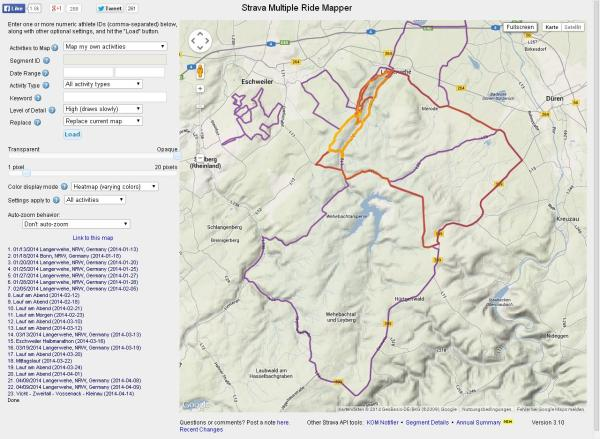 Multiple Ride Mapper