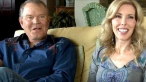Glen Campbell, with his wife (and main caregiver) Kim
