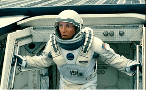 """Matthew McConaughey, in """"Interstellar"""""""
