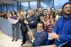 """The communal joy of scientific discovery at CERN, in """"Particle Fever"""""""