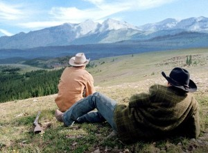 "The beautiful landscapes of ""Brokeback Mountain"""