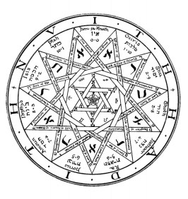 Frater Achad's pentacle.