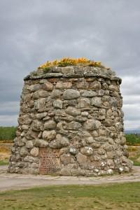 Culloden battlefield memorial