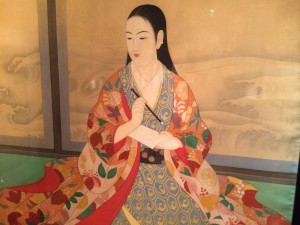 There was some beautiful Japanese Christian art.