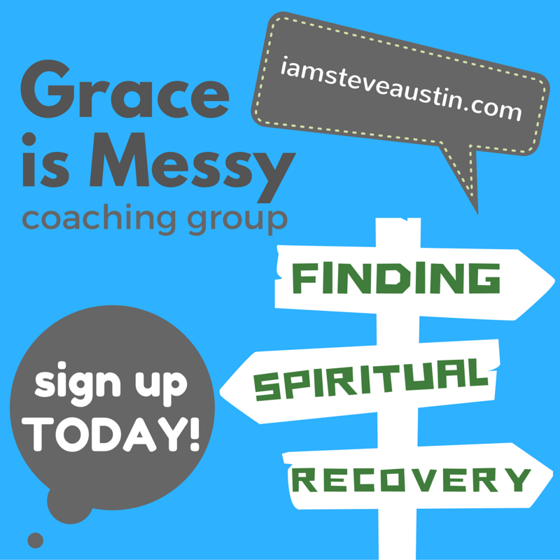 Grace is Messy Spiritual Recovery Group