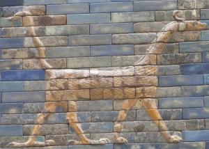 Dragon on the Ishtar Gate