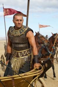 DF-08965 - Joel Edgerton stars as the Egyptian Pharaoh Ramses.