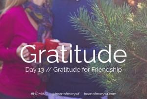 gratitude for friends