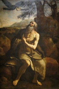 'St__Paul_the_Hermit_Fed_by_the_Raven',_after_Il_Guercino,_Dayton_Art_Institute