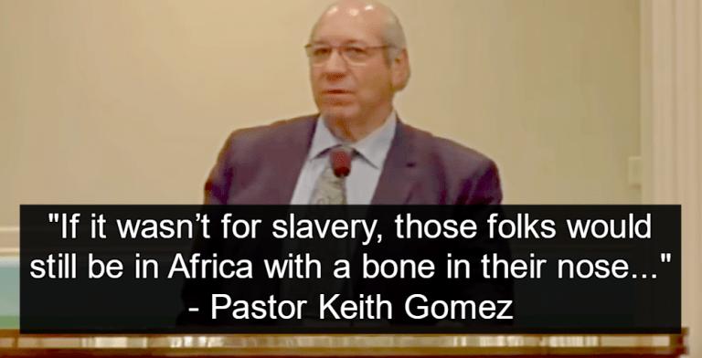 Baptist Pastor Keith Gomez (image via YouTube)