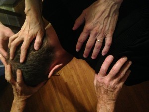 Image result for laying on of hands