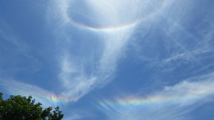 """A Double Rainbow Halo on June 1, 2014, at 1-57 PM"" by BlueHypercane761 - Own work. Licensed under CC BY-SA 3.0 via Commons - https://commons.wikimedia.org/wiki/File:A_Double_Rainbow_Halo_on_June_1,_2014,_at_1-57_PM.jpg#/media/File:A_Double_Rainbow_Halo_on_June_1,_2014,_at_1-57_PM.jpg"
