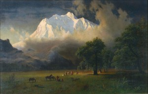 By Albert Bierstadt - Princeton University Art Museum, Public Domain, https://commons.wikimedia.org/w/index.php?curid=42981599