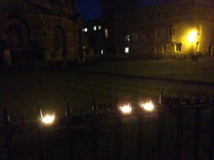 Candles. Oxford, UK vigil for Orlando. Photo by Yvonne Aburrow. CC-BY-SA 4.0