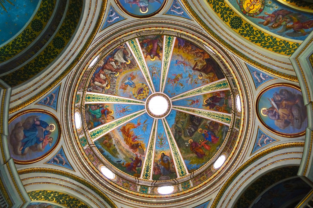 Dome, Stella Maris Convent Church, Haifa