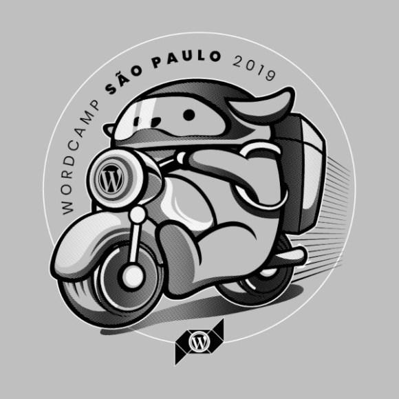 Wapuu motoqueiro entregador/Divulgação