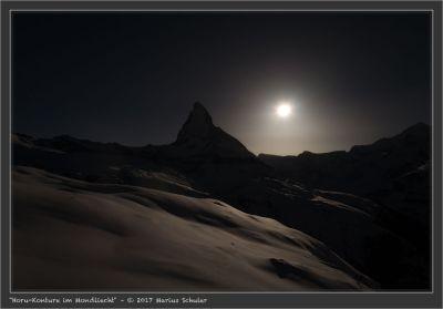 Horu-Konture im Mondliecht