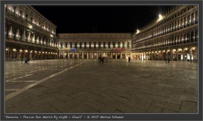 Venezia – Piazza San Marco by night – View1