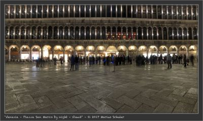 Venezia – Piazza San Marco by night – View3