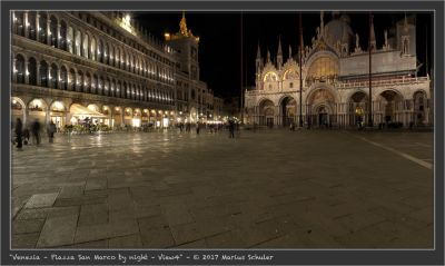 Venezia – Piazza San Marco by night – View4