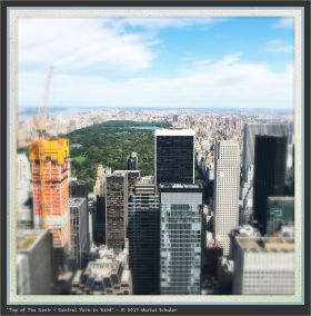 Top of The Rock - Central Park in Sicht