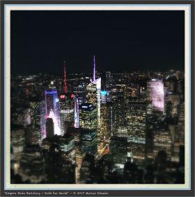 Empire State Building - Sicht bei Nacht