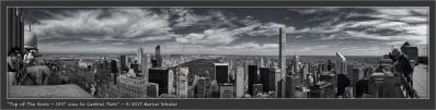 Top of The Rock - 180° view to Central Park