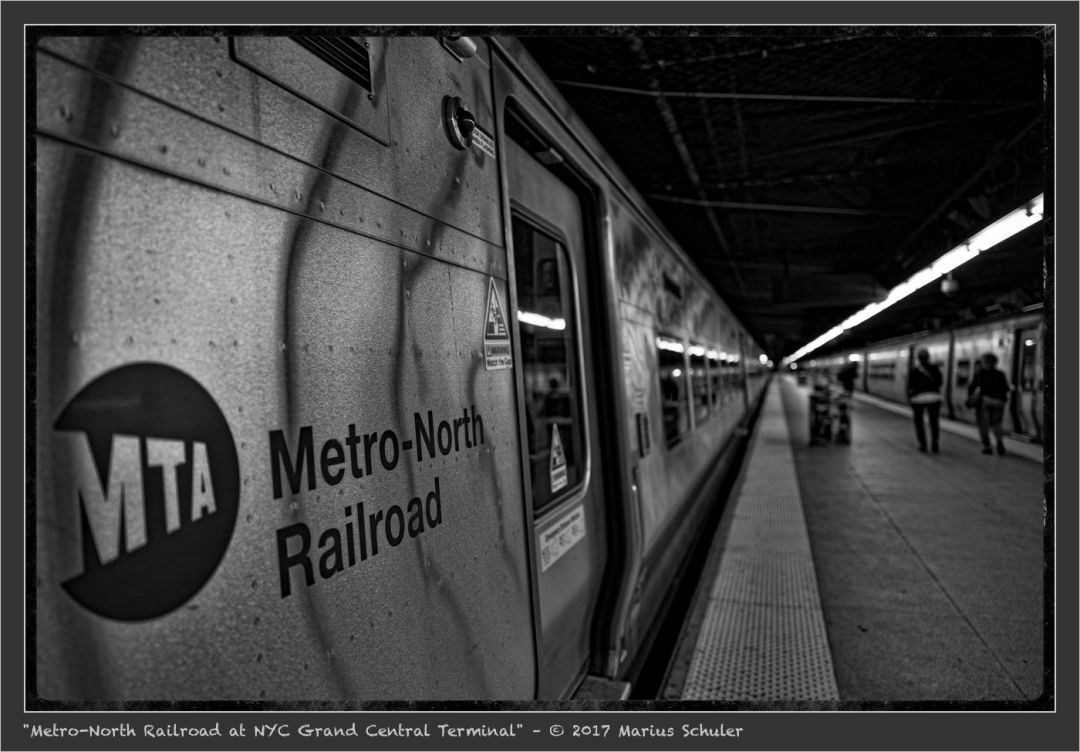 Metro-North Railroad at NYC Grand Central Terminal