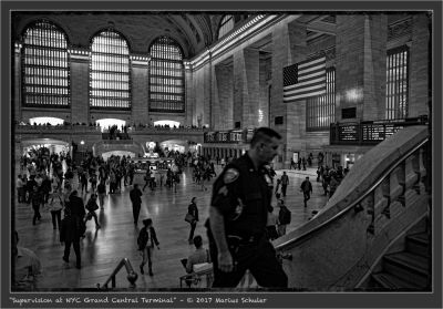 Supervision at NYC Grand Central Terminal