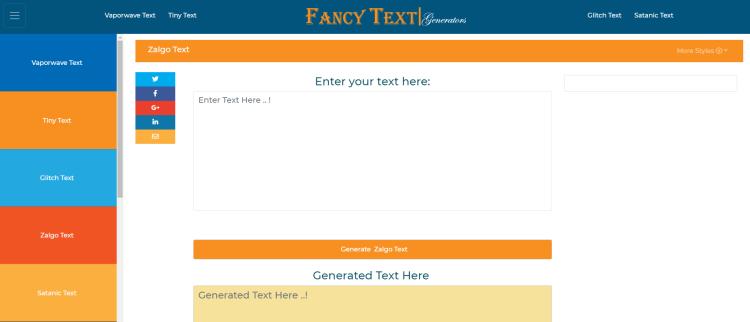 efecto glitch en texto