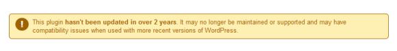 wordpress upozornenie zastaraly modul