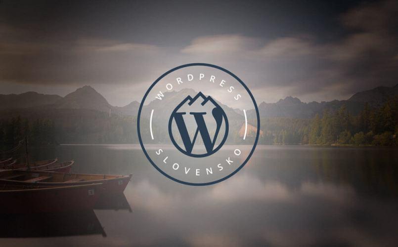 logo wordpress slovensko