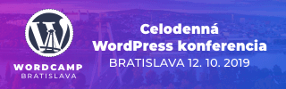 WordCamp Bratislava bude 12.10.2019