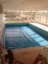 Indendørs støbt pool