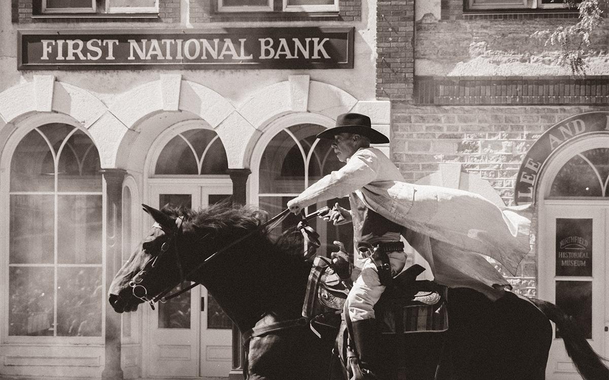 Jesse James Day re-enactment